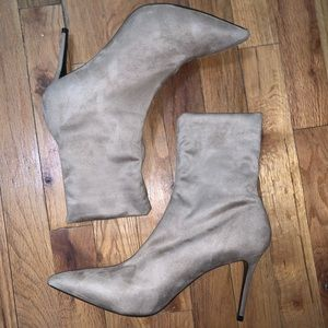 Suede Theory Booties